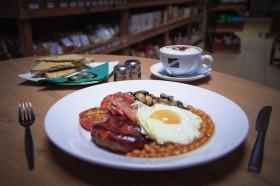 Full English Breakfast & Coffee
